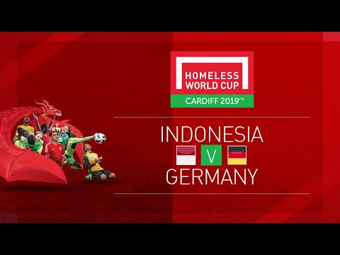 Indonesia vs Germany | Day 2, Pitch 1 | Homeless World Cup 2019
