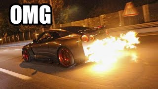 NISSAN GTR R35 FROM HELL..🔥 THE LOUDEST IN THE WORLD