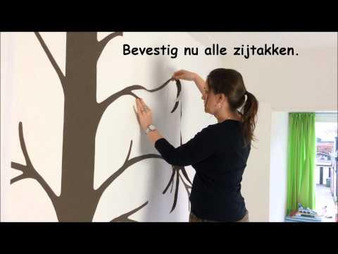 Behangboom B Mijnkinderkamer.nl