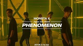 Gambar cover MONSTA X Japan 2nd Album「Phenomenon」 Teaser vol.1