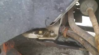 2005 chrysler town & country dodge caravan lower control arm bushing replacement