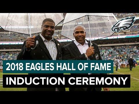 Seth Joyner & Clyde Simmons Officially Enter The Eagles Hall Of Fame | Philadelphia Eagles