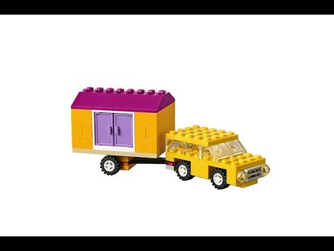 Camping Trailer How To Build Lego Classic 10715 Youtube