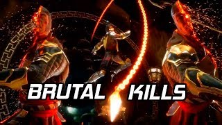Mortal Kombat 11 - All Brutal Kills So Far