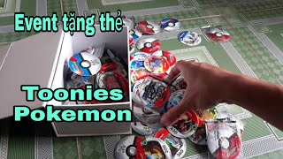 Mini game tặng thẻ toonies pokemon chinh phục huyền thoại   Đại Luffy