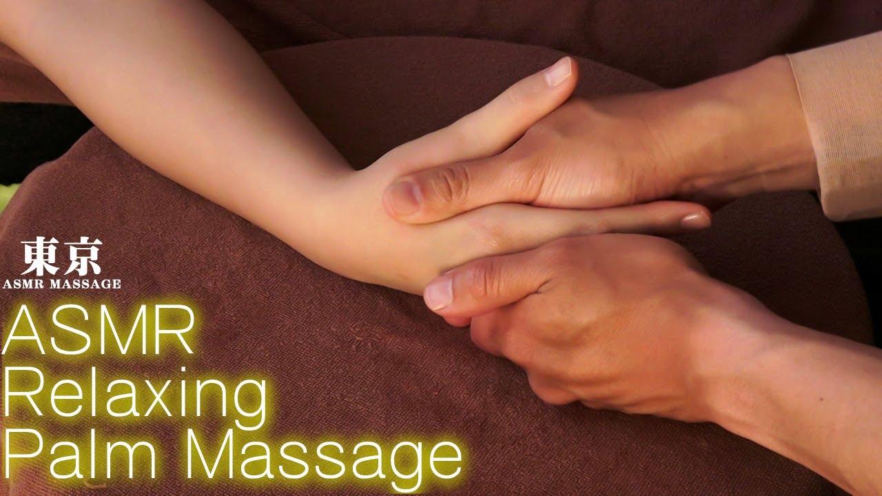 ASMR 手のツボ押しマッサージ | A palm massage that melts away tension