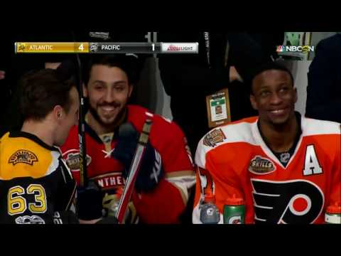 NHL 2017 All-Stars Skills Competition: Shootout