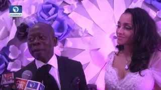 Metrofile Edo State Governor Adams Oshiomhole Marries Cape Verdean Sweetheart