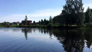 видео участок на берегу водоема