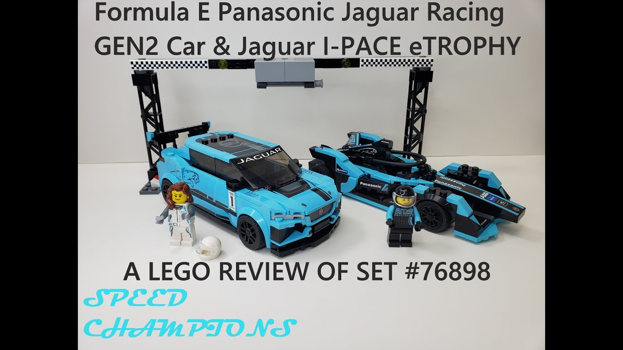 LEGO Speed Champions 76898 Formula E Panasonic Jaguar Racing N2//20