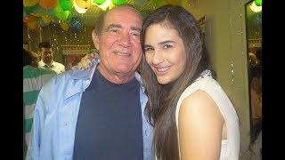 Filha de Renato Aragão revela vício do pai após ele se afastar da TV.