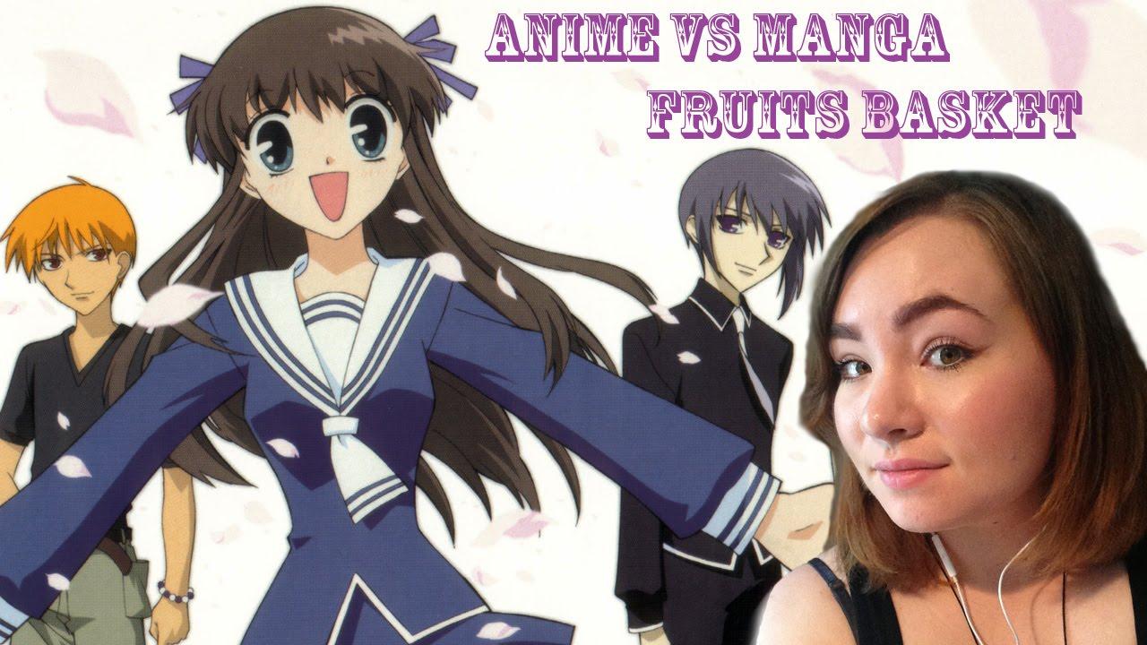 Anime Vs Manga :FRUITS BASKET