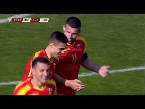 Montenegro Gibraltar Goals And Highlights