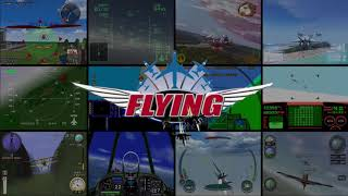 FLYING GAMES GENRE INTRO VIDEO - ANIMATED - CONSOLES