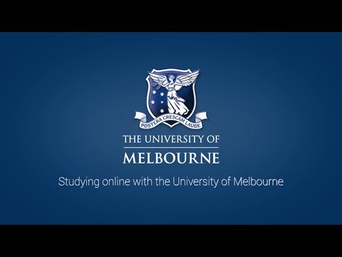 Why study online with the University of Melbourne?