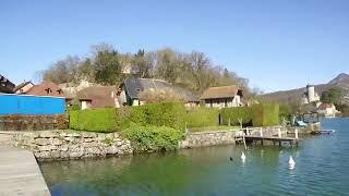 LA PLACE DU VILLAGE: Depuis Duingt (Haute Savoie-France) avec du soleil ?