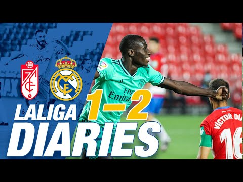 🙌 Granada 1-2 Real Madrid | Mendy's debut goal helps make it nine wins out of nine! from YouTube · Duration:  5 minutes 44 seconds