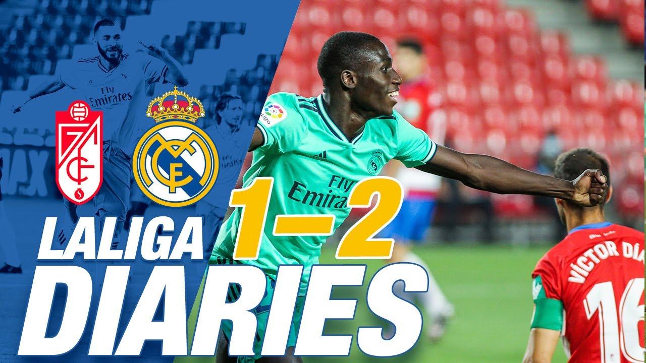 Download 🙌 Granada 1-2 Real Madrid | Mendy's debut goal helps make it nine wins out of nine!