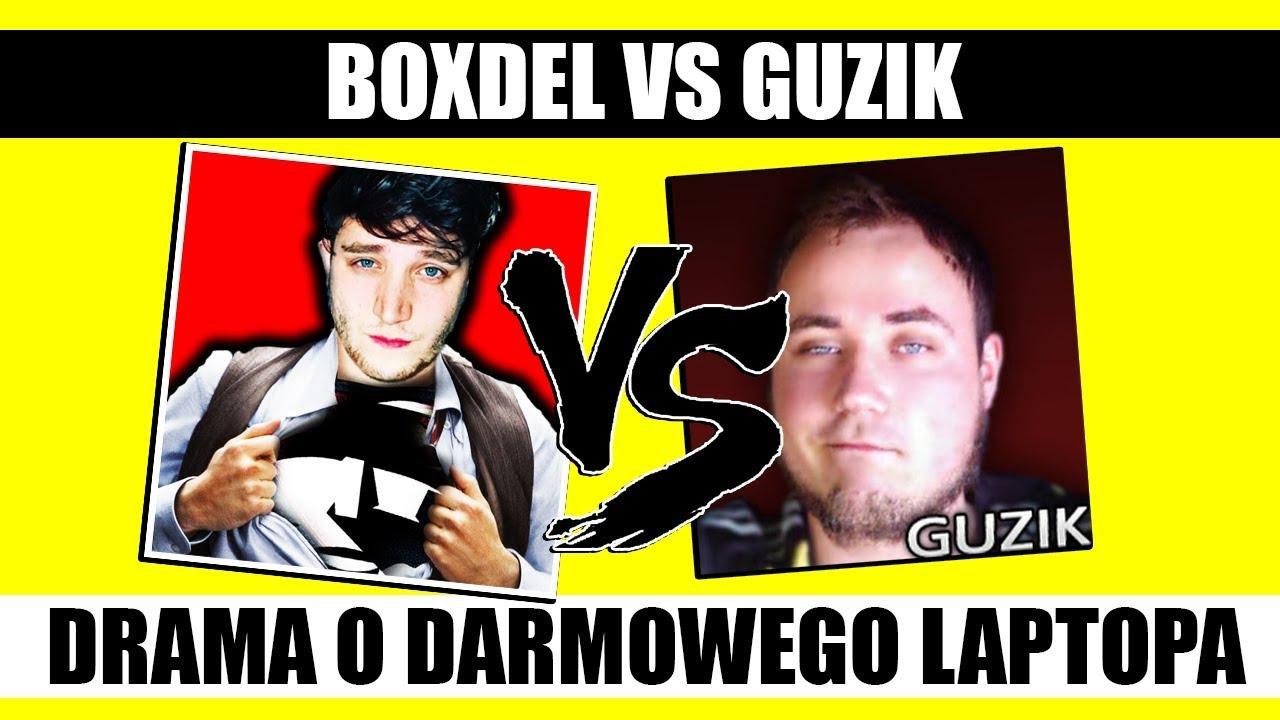 Walka BOXDEL vs GUZIK – DRAMA O DARMOWY LAPTOP