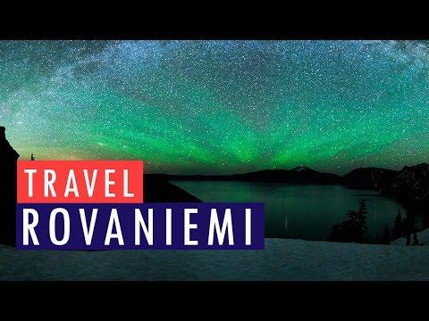 Arctic Circle Finland Experience - Rovaniemi Road Trip