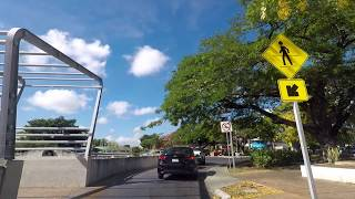 Driving in Merida