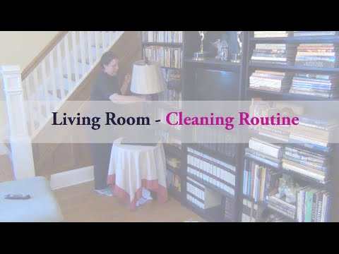 Living Room || Cleaning Routine ||