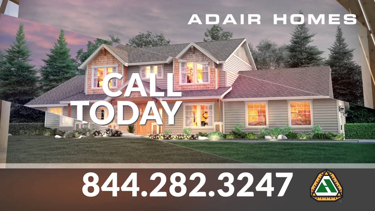Adair Homes Affordable Custom Homes Youtube