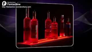 Led Wall Mount Liquor Display From Armana Productions