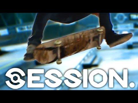 SESSION: Skating The Huge Gap!