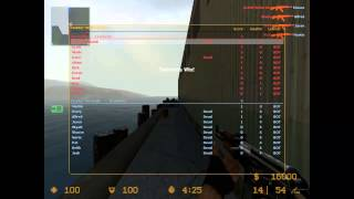 Counter Strike Source Gameplay With Aimbot
