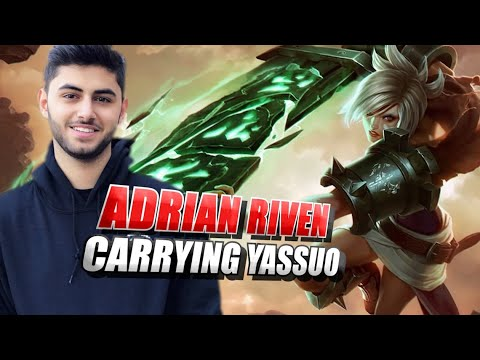 Adrian Riven carrying Yassuo so he can win the bet vs Tyler1