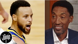 Scottie Pippen thinks Steph Curry is the MVP front-runner for 2019-20 | The Jump