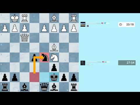 Chess Game: Fried Liver Attack – Classical – 60 minute game