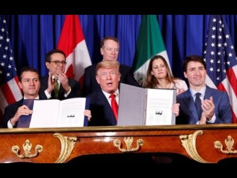 TRUMP'S NEW NAFTA IS TPP IN DISGUISE. PUSHES ONE WORLD GOVERNMENT. AGENDA 2030