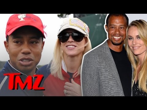 Tiger Woods And Ex-Wife Elin … FRIENDS?!
