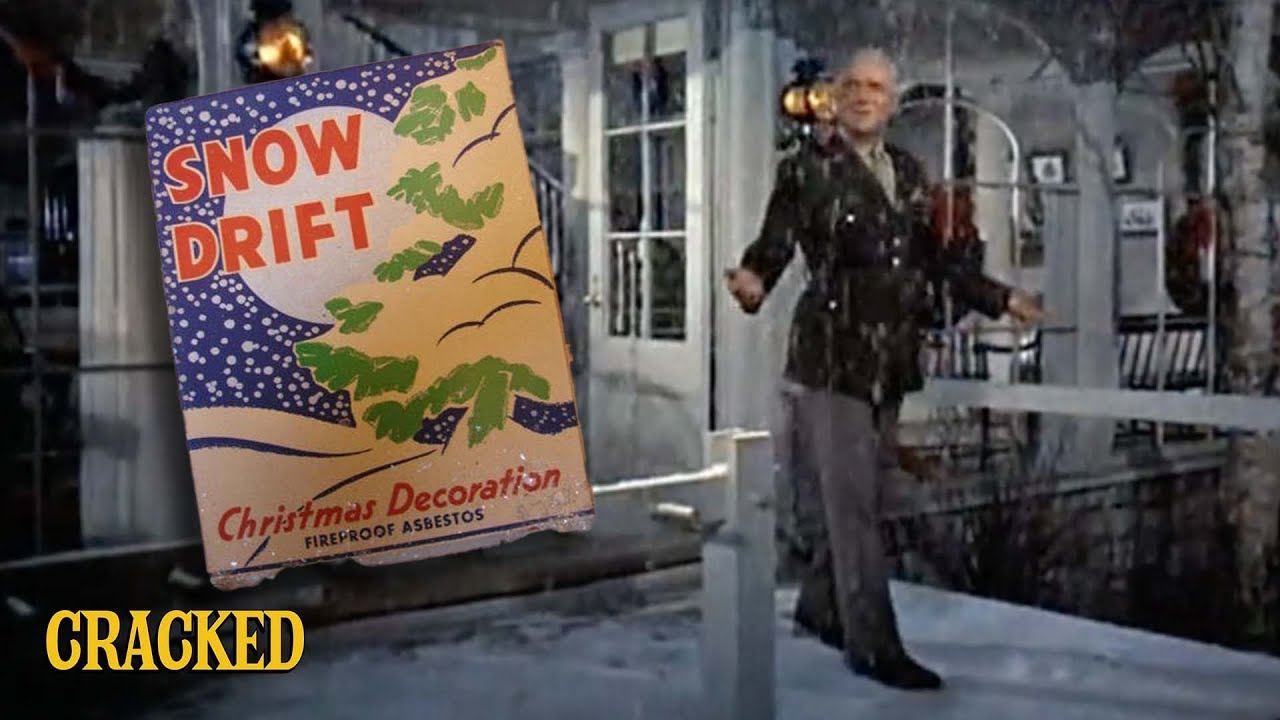 Old Movies Used Fake Snow Made Out of Asbestos