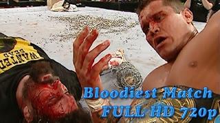 WWE BACKLASH 2004 Randy Orton vs Mick Foley Full Match HD  (Bloodiest)
