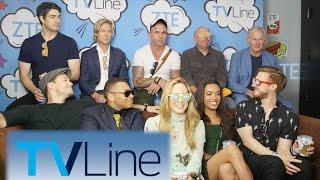 Legends of Tomorrow Interview | TVLine Studio Presented by ZTE | Comic-Con 2016
