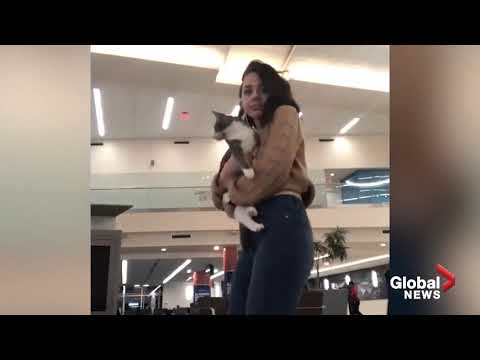 Lulu - Girl Who Got Stuck At Airport Spends Time Dancing