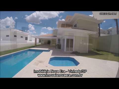 Casa residencial à venda, Condomínio Morada do Sol, Vinhedo. CA1029