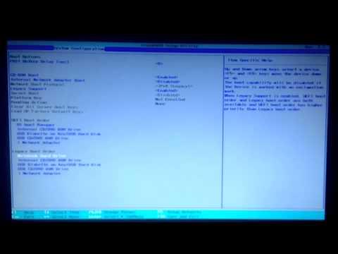 Как включить secure boot на ноутбуке hp