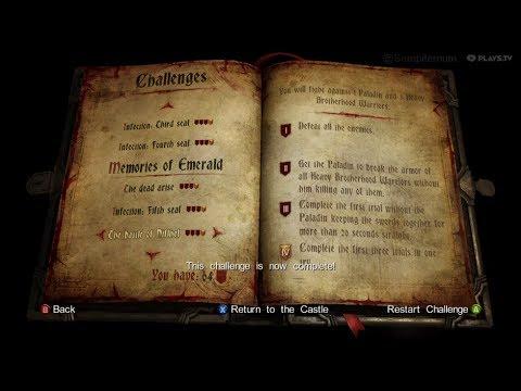 Castlevania Lords of Shadow 2 - Kleidos Challenge no.14 |