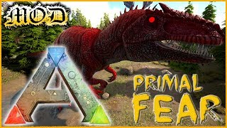 ARK PRIMAL FEAR - #22 ► APEX GIGANO MONSTRUEUX & ORIGIN RAPTOR FIGHT [FR MOD]