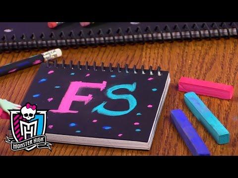 Stunning DIY School Supplies with Frankie Stein™ | Monster High™
