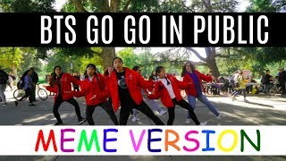 [K-pop in Public Challenge] BTS (방탄소년단) - Go Go (고민보다 Go) Dance Cover by SoNE1