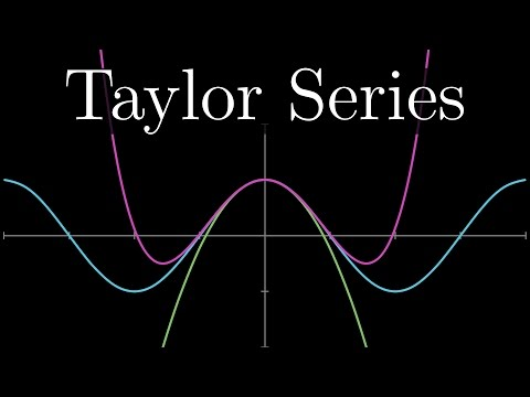 Taylor series | Chapter 10, Essence of calculus