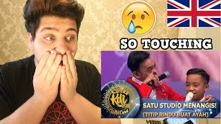 BETRAND PETO - TITIP RINDU BUAT AYAH - WildCard KDI (19/8) | REACTION!