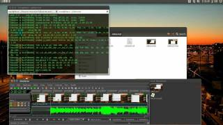 how to record and edit video on Ubuntu 11.10