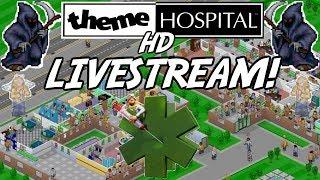Theme Hospital HD Live Stream FINAL LEVEL - Retro Games Stream