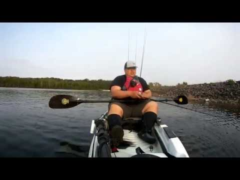 First Time On My Kayak This Year | Fishing Canal Lake